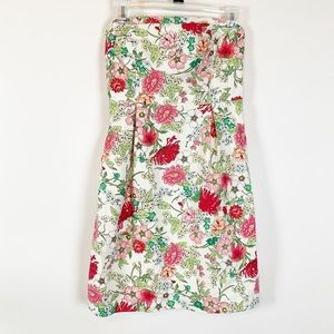 Old Navy Floral Strapless Dress Size 6